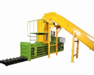 Fully Auto Tie Horizontal Cotton Waste Machine