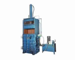 Single Cylinder Vertical Corrugated Scrap Baler
