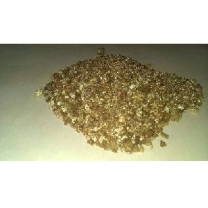 Exfoliated Gold Vermiculite Flake