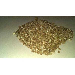 Exfoliated Gold Vermiculite Flake