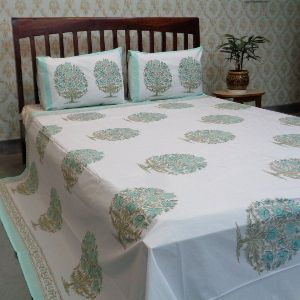 Bedspread in Percale King Size