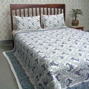 Bedspread Quilted with Pillowcase Queen Size