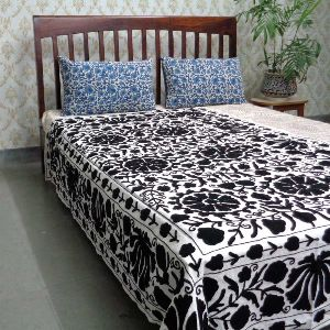 Suzani Bedspread in Cotton TWIN SIZE