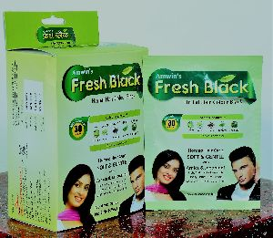 Fresh Black Herbal Hair Colour