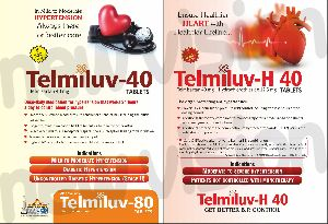 Telmiluv-40mg Tablets