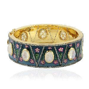 designer enamel bangle