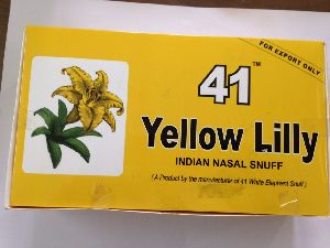 Yellow Lilly Snuff 04