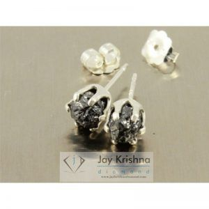 Diamond 925 Sterling Silver Stud Earring