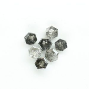 Hexagon Shape Polished Diamond