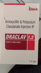 Amoxicillin & Potassium Clavulanate Injection IP