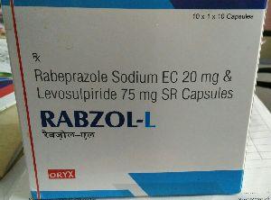 Rabeprazole Sodium EC 20 mg & Levosulpiride 75 mg SR Capsules