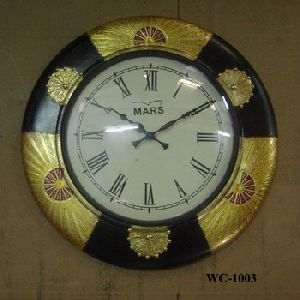 Brass art Crafted Wall Mounted Clock