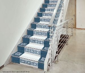 3 Ft Double Colour Step Riser Tiles 06
