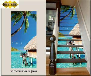 3D Step Risers Tiles 03