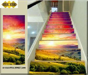 3D Step Risers Tiles 06