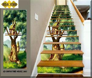 3D Step Risers Tiles 07