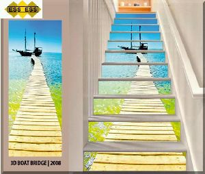 3D Step Risers Tiles 08