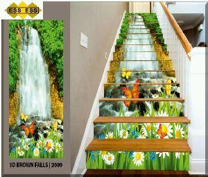 3D Step Risers Tiles 09