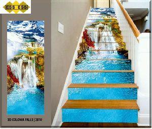 3D Step Risers Tiles 10