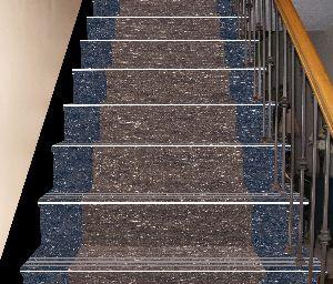 4 Ft Double Colour Step Riser Tiles 07