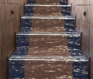 4 Ft Double Colour Step Riser Tiles 09