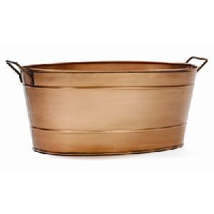 Beer tub Copper plated