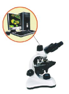 MICROSCOPE WITH DIGITAL VIDEO IMAGING SYSTEM
