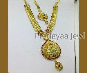 Gold Necklace 05