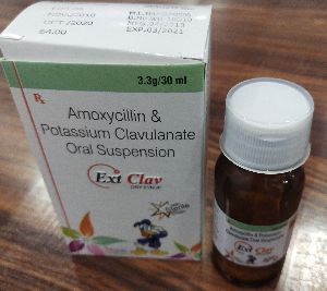 Amoxycillin and  Potassium Clavulanate Oral Suspension