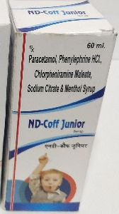 Paracetamol, Sodium Citrate And Cold Syrup