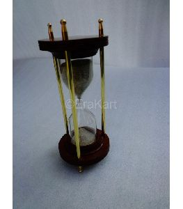Antique Brass Sand Timer