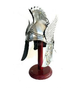 Greek Winged Helmet Of Phrygian Chalcidian Type