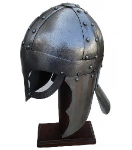 Medieval Knight Viking Spectacle Helmet