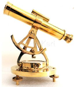 Polished Alidade Telescope - Survey Theodolite 7