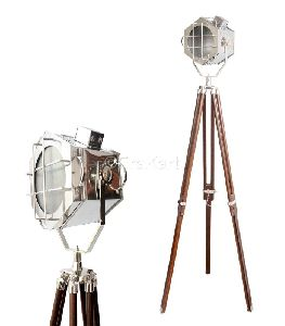 Theater Nautical Spotlight Floor Lamp
