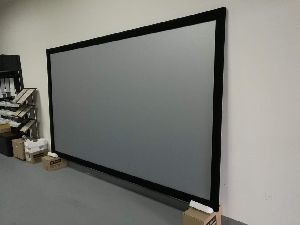 Silver 3D Projection Screen