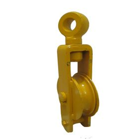 Single Sheave Close Pulley Hexa