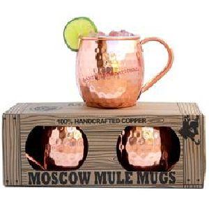 100% Handcrafted Copper Mule Mugs