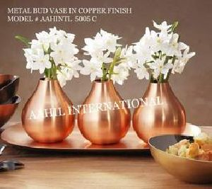 Copper Bud Vase