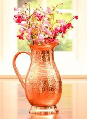 Copper Flower Vase - Copper Flower Pot