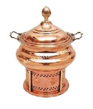 Copper Hyatt Handi Chafing Dish Plain