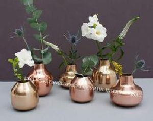 Decorative Metal Bud Vase
