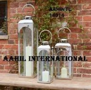 Designer Stainless Steel Lantern