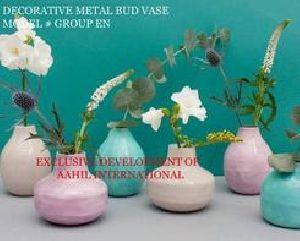 Enamel Bud Vase