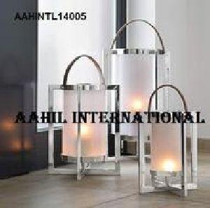 Modern Designer Lantern Stainless Steel