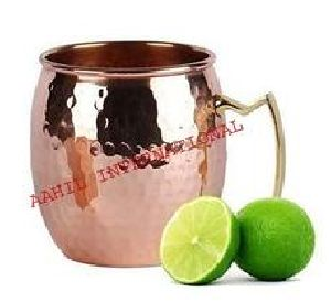 Moscow Mule Mugs Solid Hammered 16 ounce