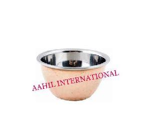 Pickle Bowl Copper Steel / Chutney Bowl Copper Steel