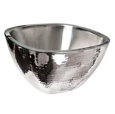 Stainless Steel Double Wall Square Bowl