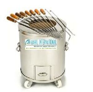 Tandoor Stainless Steel Charcoal