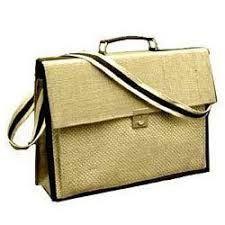 Jute Briefcase